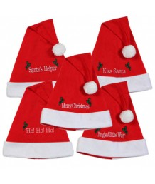 Santa Hat with Merry Message