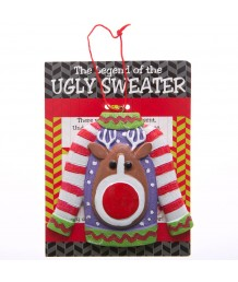 Legend of The Ugly Sweater Ornament