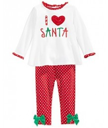 I Heart Santa - 2 piece set