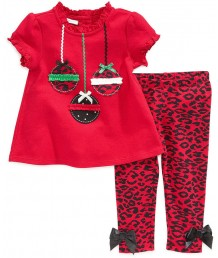 Red Ornaments 2-piece set