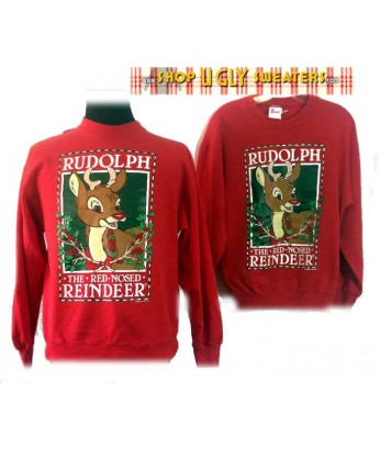 Rudolph The Red Nosed Reindeer Sweatshirt