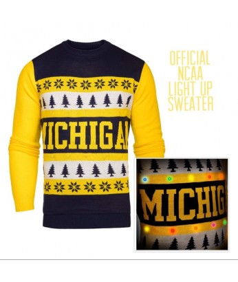 U of M Light Up Sweater