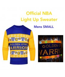 Golden State Warriors Light Up Sweater