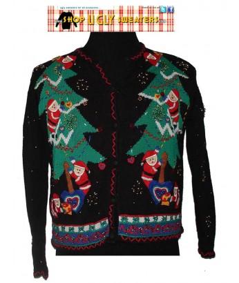 Baby Santas Christmas Sweater Size MEDIUM