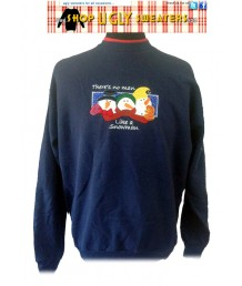 No Man Like A Snowman Sweatshirt Size L