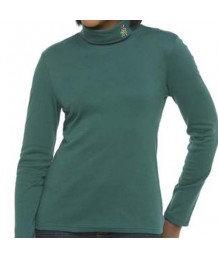 Green Candy Cane Turtleneck