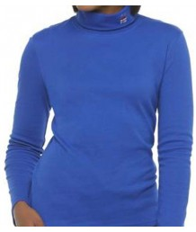 Blue Present Turtleneck