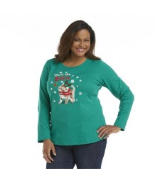 Deck The Halls Long Sleeved Cat T-Shirt